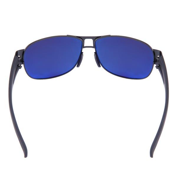Mens Resin Polarized UVA UVB Gun Black Fram Driving Sunglasses