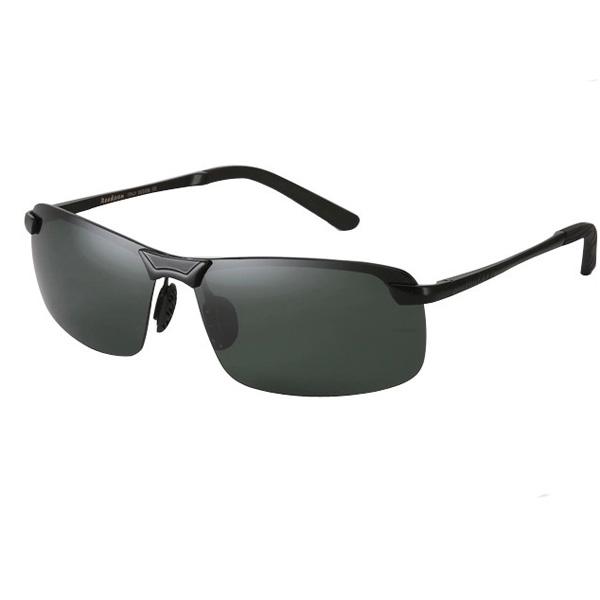 Mens Reedoon PC Polarized Frameless Single Girder Sunglasses