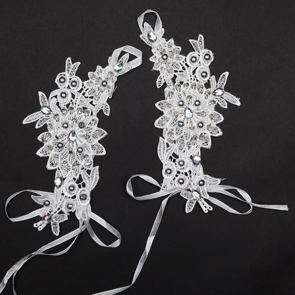 Bride Wedding Dress Gloves Bridal Stage Performances Glove