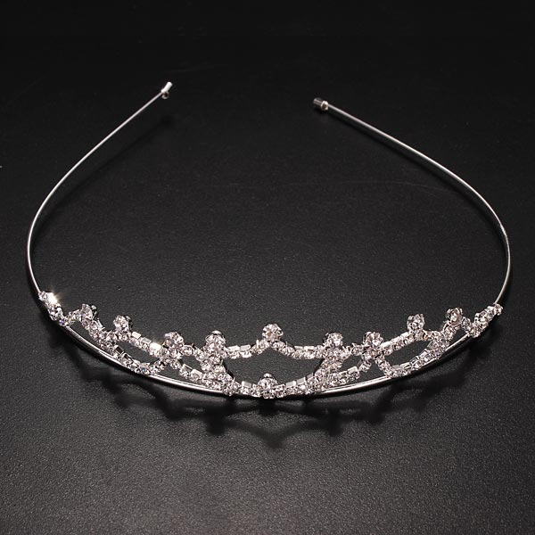 Bridal Crown Headbrand Tiara Rhinestone Wedding Headpiece