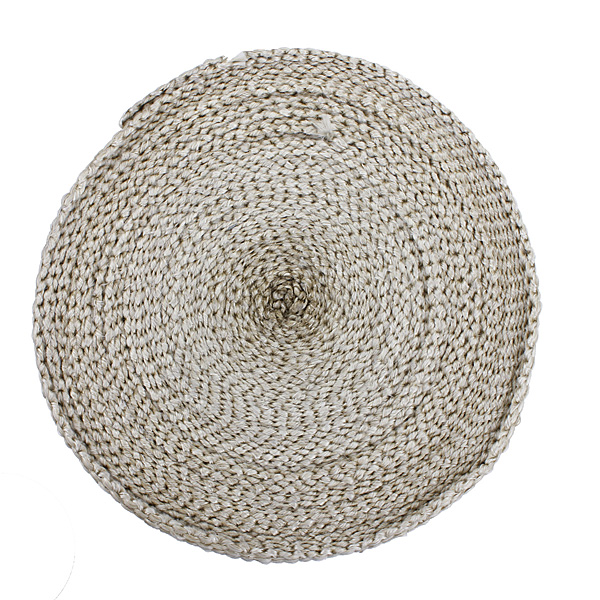 5cmx15m Exhaust Insulator Header Down Pipe Heat Wrap High Temp