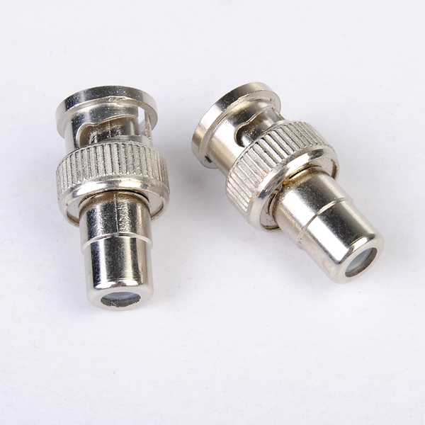 BNC to RCA Female Coax Cable Connector Adapter for CCTV Camera