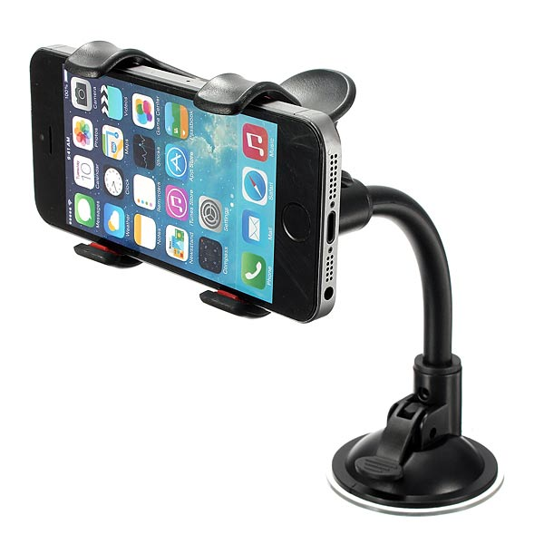 Universal 360 Adjustable Wind Shield Car Holder For iPhone 5 5S