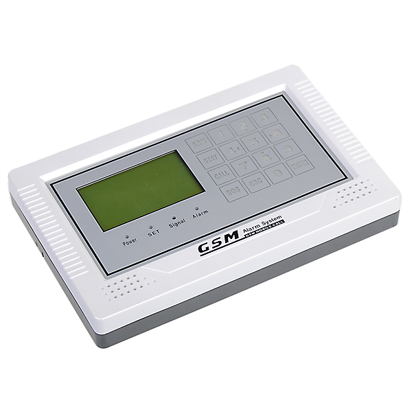 433MHz LCD Touch Keypad Wireless Wired GSM Home Security Alarm System