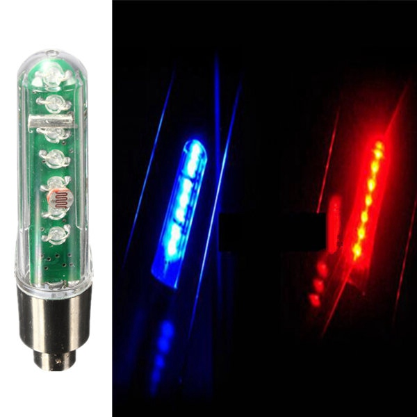 7LED Bicycle Wheel Valve Tire Tyre Double Sense LED Letter Light