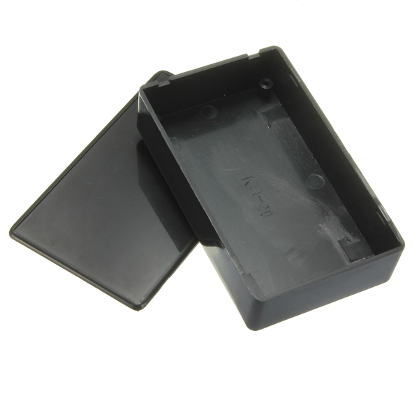Black Plastic Power Supply Junction Box Enclosure Instrument Case