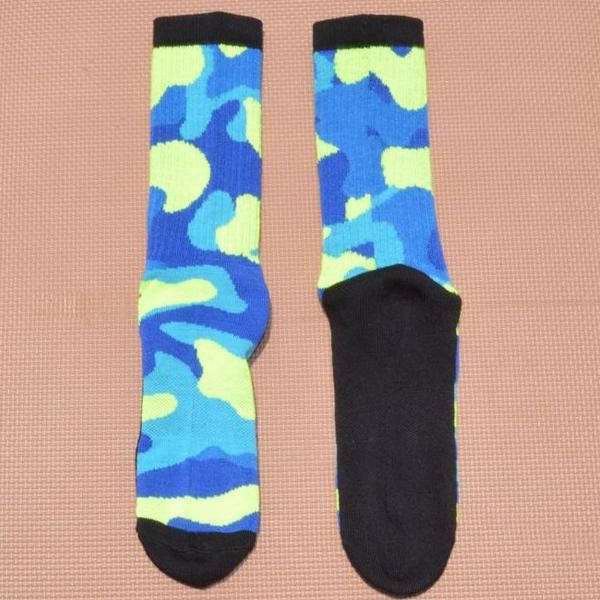 Mens Colorful Fashion Professional Basketball Sports Long Socks