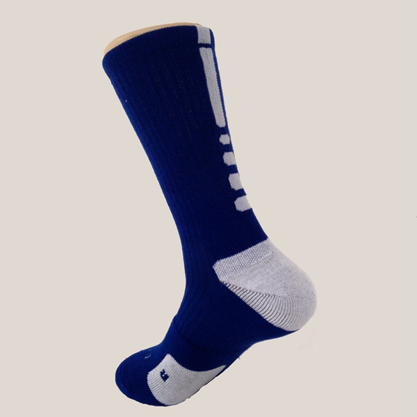 Mens Middle Tube Professional Quick-dry Basketball Sports Socks