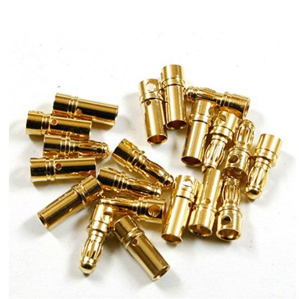 20 Pares 3,5mm Bala Conector Banana Plug para RC ESC / Bateria / Motor