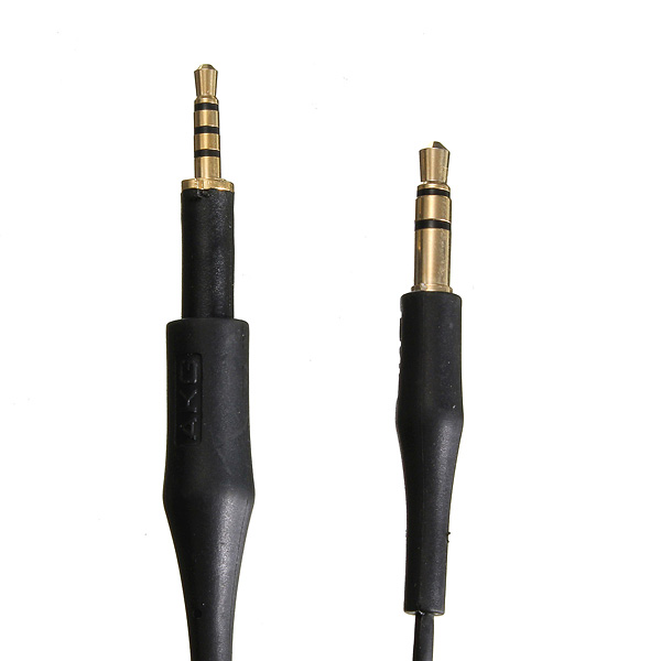 Black Replacement Audio Cable Lead Line Cord For AKG