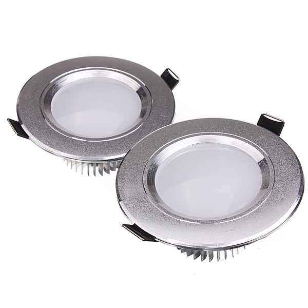 3W LED Down Light Ceiling Recessed Lamp 85-265V + Driver