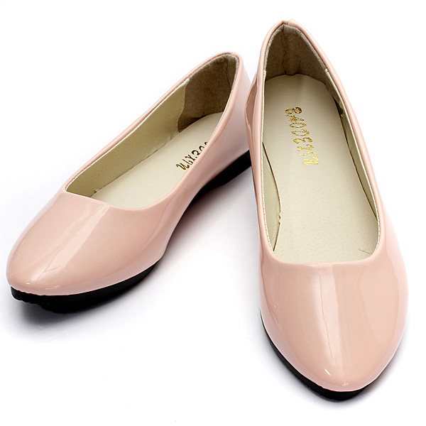 Women's Flat Pumps Womens Ballerina Slip On Dolly Ballet Shoes Slipper (Eachine1) Thousand Oaks Search and purchase