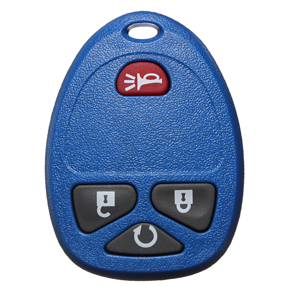 Car Entry Remote Key Fob Shell Case & Pad For GM Replacement