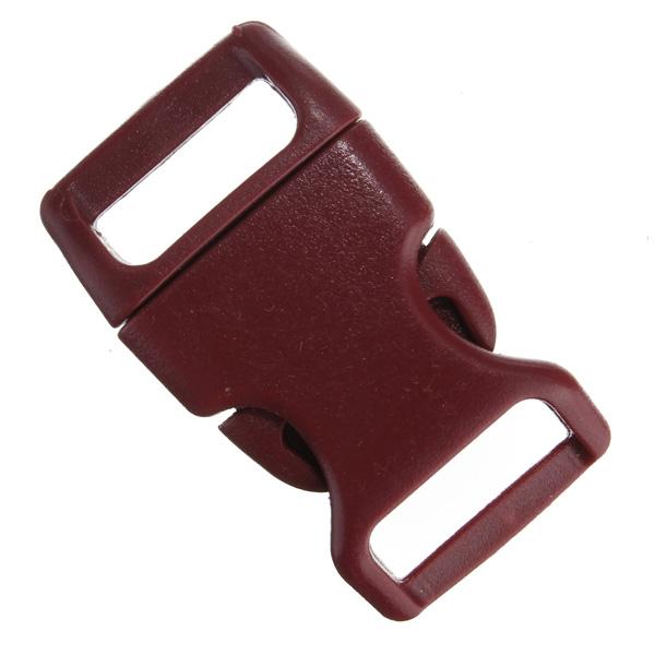 15mm Plastic Contoured Side Release Buckles Bags Belt Fastener