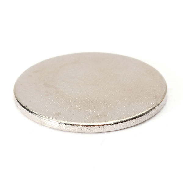 10PCS 25x2mm N35 Strong Round Rare Earth Neodymium Magnetic Toys