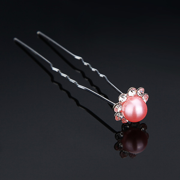 Bridal Wedding Hair Headpiece Jewelry Pearl Hairpin