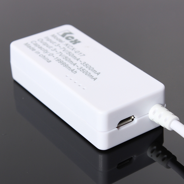 DANIU LCD USB Mini Voltage and Current Detector USB Charger Tester Meter