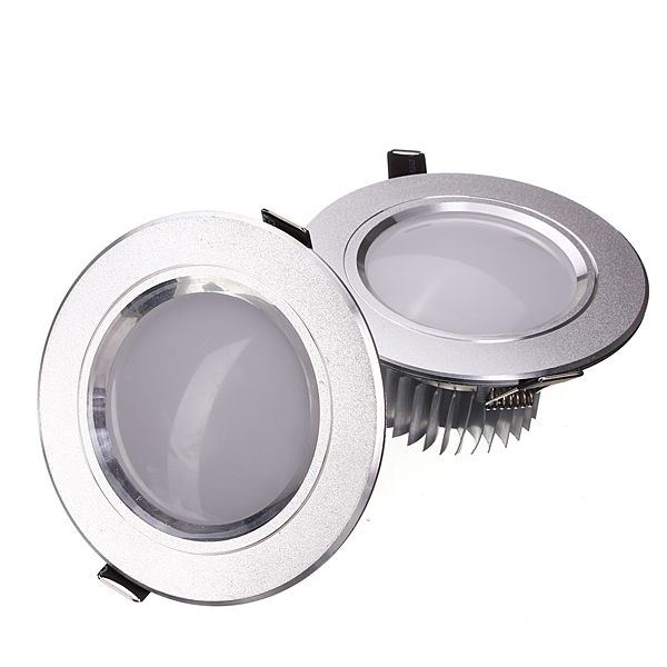 5W LED Down Light Ceiling Recessed Lamp Dimmable 110V + Driver