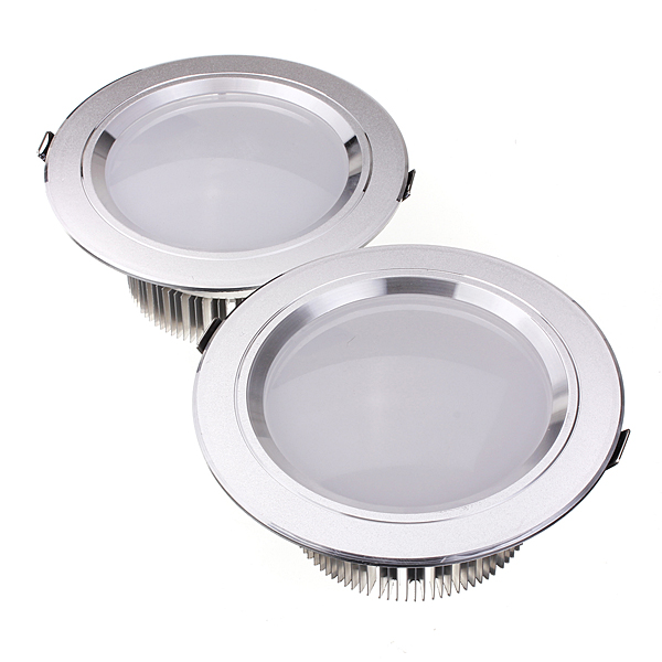 12W LED Down Light Ceiling Recessed Lamp 85-265V + Driver