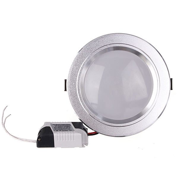 12W LED Down Light Ceiling Recessed Lamp Dimmable 110V + Driver