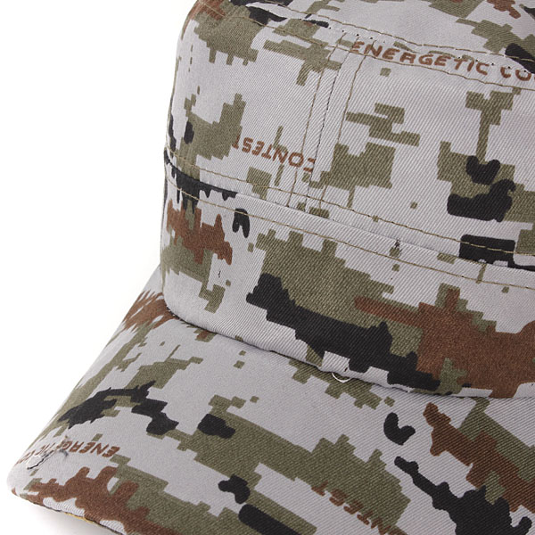 Unisex Men Women Army Camouflage Military Soldier Hat Sport Cap Jungle
