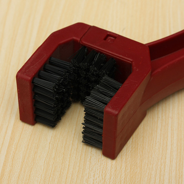 Motorcycle Chain Tire Maintenance Cleaning Brush Brake Dirt Remover