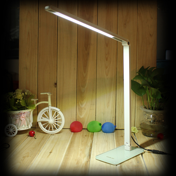 Flexible 48 LED Energy Saving 180°Adjustable Table Lamp Reading Light