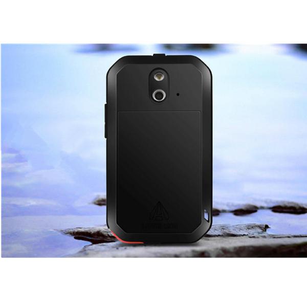Aluminum Metal Waterproof Shockproof Dustproof Case For HTC E8