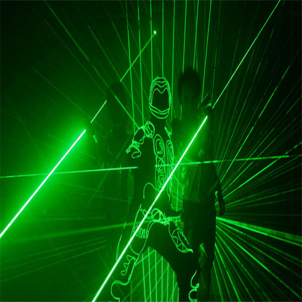 532nm 5v Green Double Laser Sword+ Battery Suit(1mw,5mw)