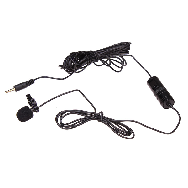 BOYA BY-M1 Omni Directional Lavalier Microphone For Canon Nikon Sony