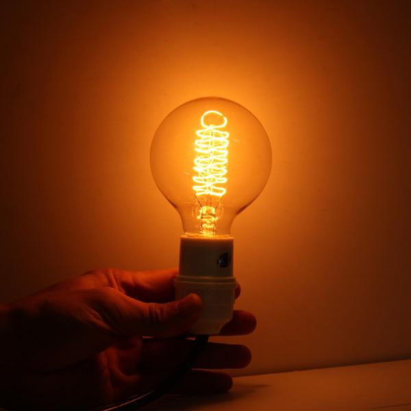 E27 Incandescent Bulb 40W 220V G80 Retro Edison Light Bulb