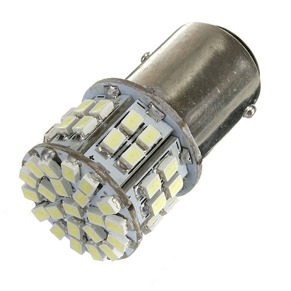BAY15D 1157 White Car Tail Stop Brake Light 50 SMD LED Bulb 12V