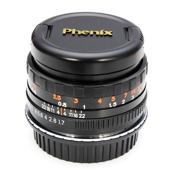 Second Generation 50mm F1.7 Phenix Lens For Canon EF Le