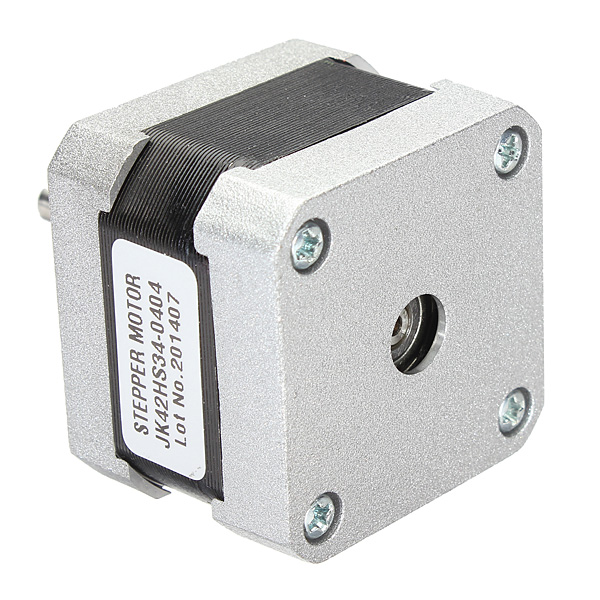 JKM Nema 17 Two Phase Hybrid Stepper Motor 37oz-in 34mm 0.4A