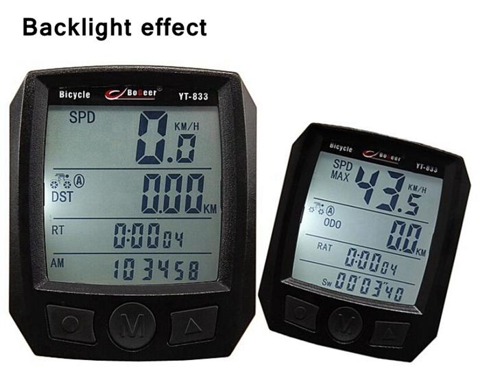 Entfernungsmesser Fahrrad : Radfahren fahrrad zyklus computer entfernungsmesser