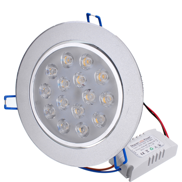 15W Bright LED Recessed Ceiling Down Light 85-265V + Driver