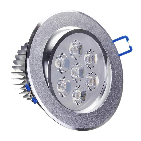 7W Bright LED Recessed Ceiling Down Light 85-265V Cool White