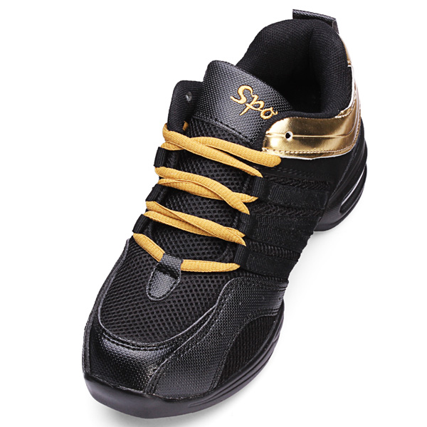 Lady Jazz Hip-hop Shoes Practice Dance Breathable Sneakers Shoes