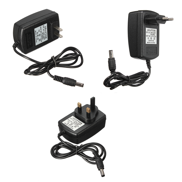 Banggood price history to AC DC 12V 2A Power Supply Adapter Charger For CCTV Security Camera