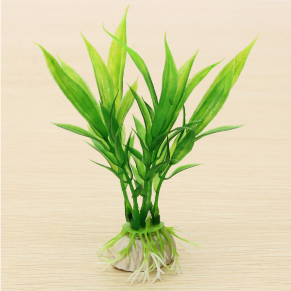 Aquarium Fish Tank Plant Artificial Under Water Decoration Green