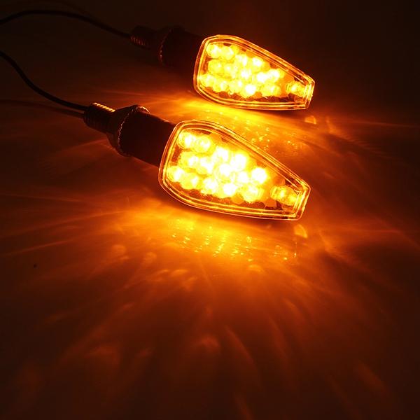 Motorcycle 14LED Turn Signal Light Indicator For BMW Honda Suzuki