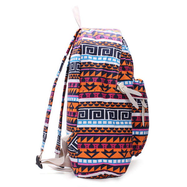 New Nan Edition Canvas Backpack Backpack Flowers Student Backpack