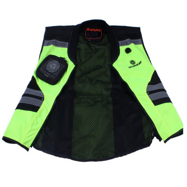 Scoyco JK32 Motorcycle Reflecting Racing Vest Safety Clothing