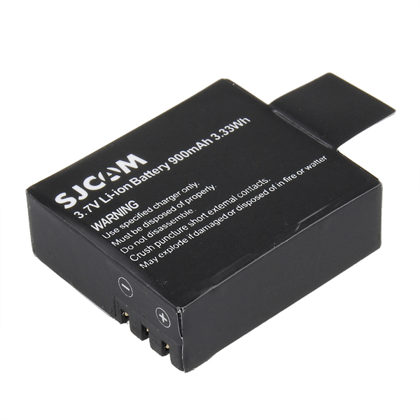 7f6e8704d5f 3.7V 900mAh Li-ion Battery for SJ4000 SJ4000 WIFI SJ4000 Plus SJ5000  SJ5000X SJ5000