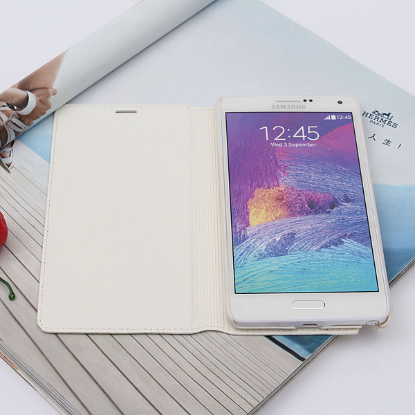 Crazy Horse Pu Leather Case Cover For Sumsung Galaxy Note4 N9100