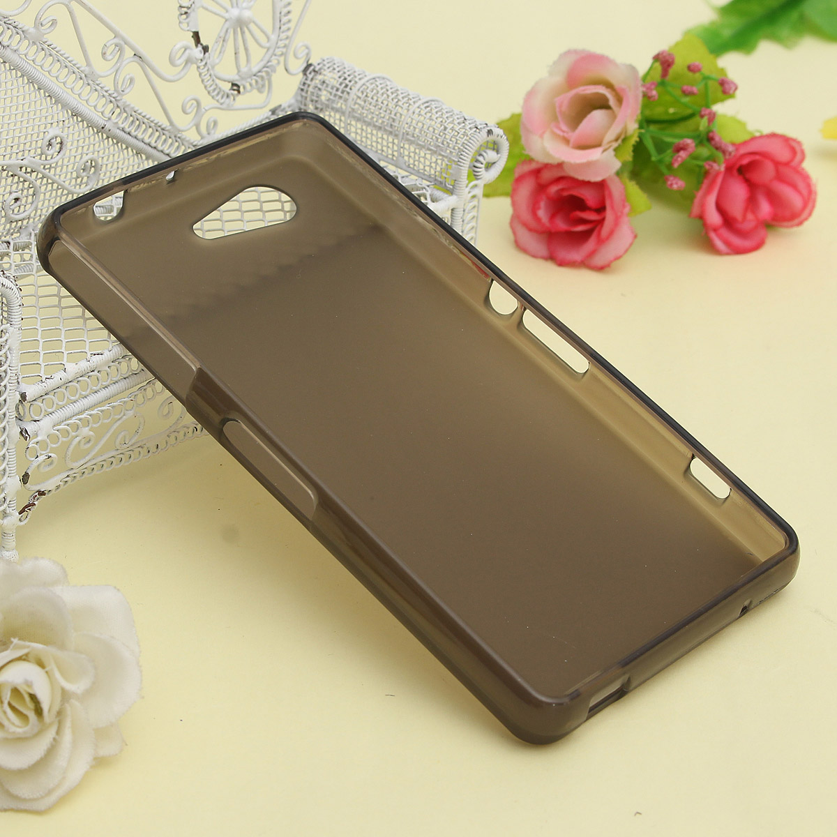 Slim Matte TPU Soft Back Cover Case For Sony Xperia Z3 Compact M55W