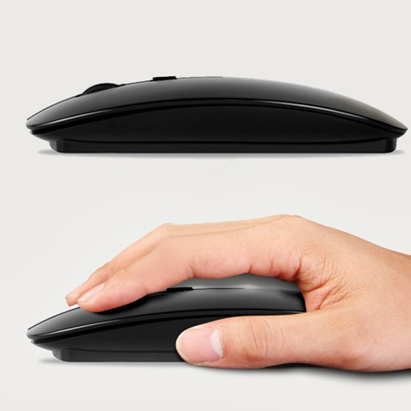Bestrunner Ultra Thin 2.4G Wireless 4D 800 1000 1200DPI Optical Mouse