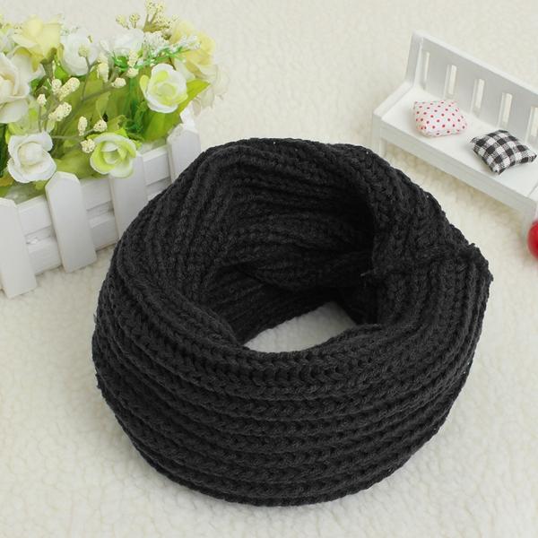 Fashion Casual Candy Color Wool Scarf Shawl Wrap Neck Warmer