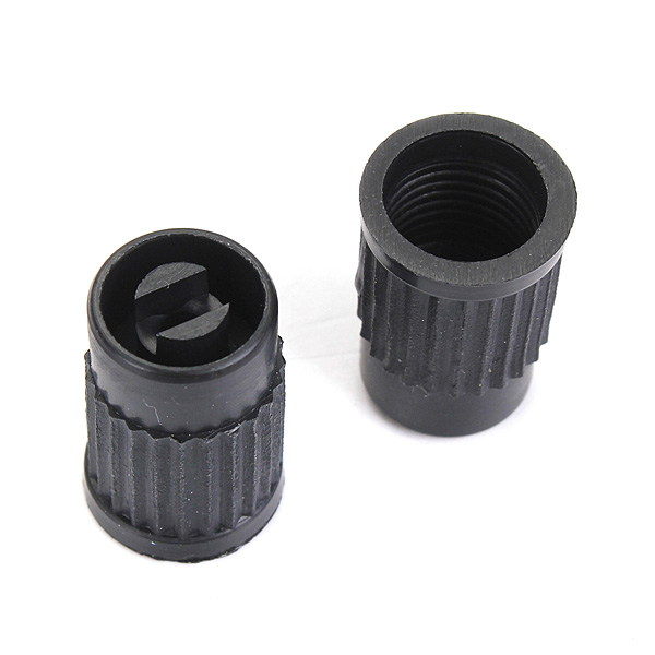 100pcs Plastic Tire Valve Stem Caps Anti-dust Cover