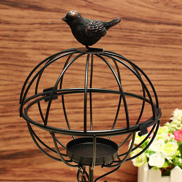 ZAKKA Lamp Wrought Iron Candle Stick Furnishing Articles